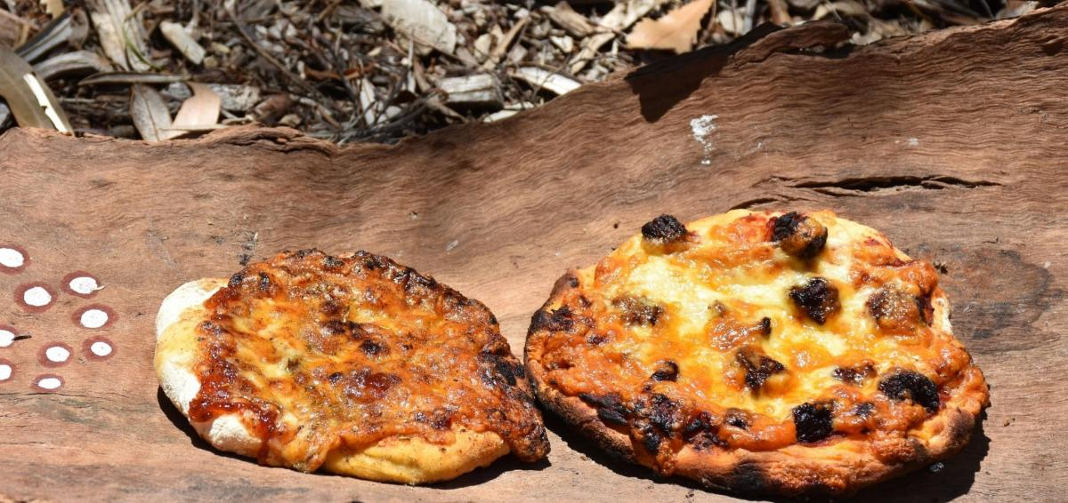Pizza Party in the Bush